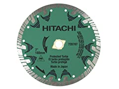 "Hitachi 7"" Premium Turbo Saw Blade"