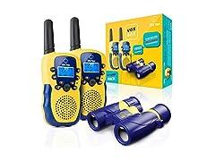 USA Toyz Vox Box Walkie Talkies