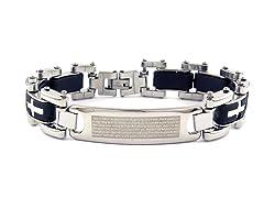 Cross Link Prayer Bracelet