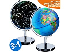 3 in 1 Interactive World Globe for Kids