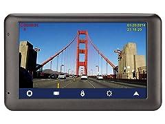 "Magellan 5"" GPS + Dashcam with Lifetime Maps"