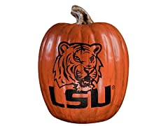 Resin Pumpkin - LSU