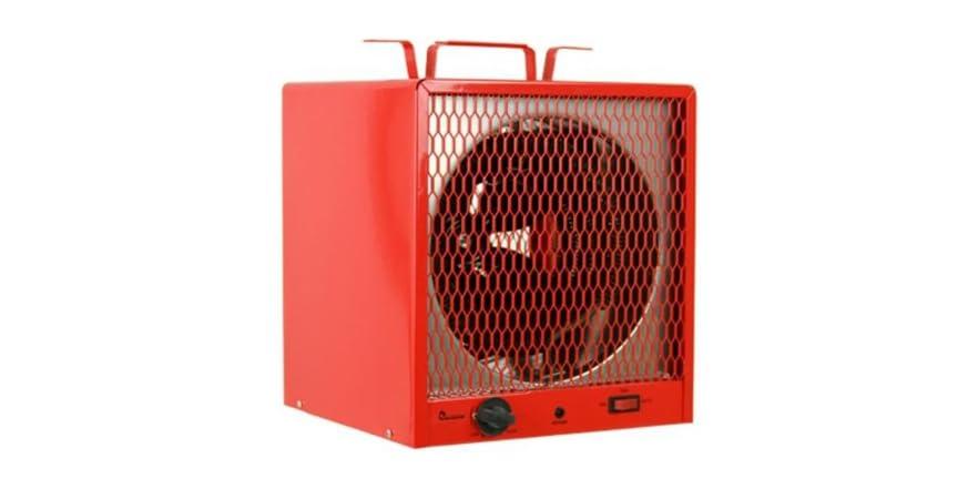 5600w portable industrial garage heater woot
