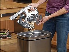 Black & Decker Cordless Mini Canister Vacuum