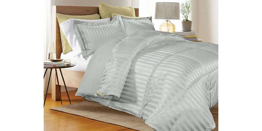 Down Alt Comforter Platinum 3 Sizes