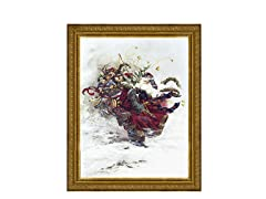 Windswept Santa (2 Frame Colors)