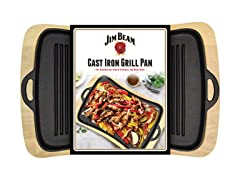 Jim Beam Cast Iron Gill Pan