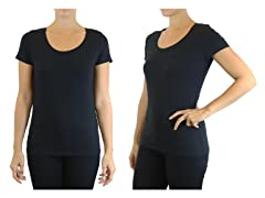 Women's Stretch Short Sleeve Tee 3-Pack