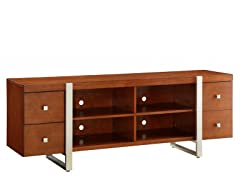 "Homelegance Metro 72"" Cherry TV Console"