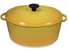 Yellow 6.5-Qt. Round Dutch Oven