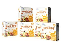 Organic Mashups 24pcs Tropical Fruit
