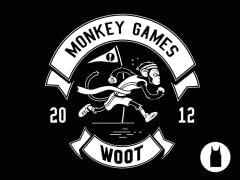 2012 Woot Monkey Games Tank Top - Black