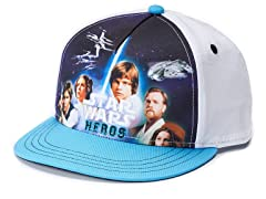 Heroes Sublimated Kids Baseball Cap
