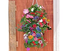 Hanging Butterfly Flower Gardenig Bag