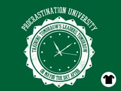 Procrastination University - Kelly Green