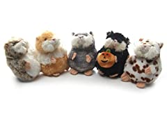 Mazin' Hamsters 5 Pack - Grey