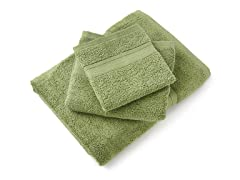 MicroCotton Aertex 3Pc Towel Set-Bamboo