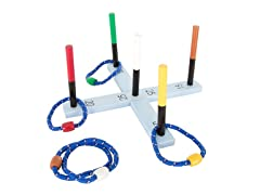 Rope Ring Toss Game
