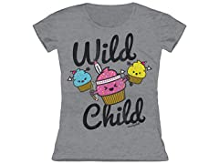 Girls Toddler Tee - Wild Child (2T)