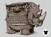 Woolly Typewriter Rhino