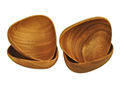Small Bermuda Bowls 4-Piece Set