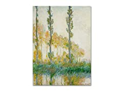 Monet The Three Trees in Autumn