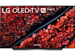 "LG C9 77"" 4K Smart OLED TV + AI ThinQ"