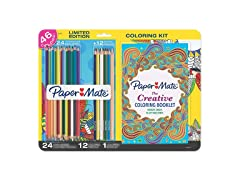 Adult Coloring Book Kit