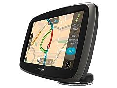 "TomTom 6"" GPS w/ Lifetime Maps & Traffic"