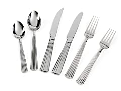 18/10 92Pc Flatware Set-Parker