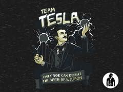 Team Tesla LW Zip Hoodie