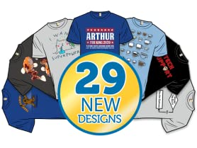 January Shirtstorm!