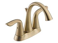 Centerset Lavatory Faucet, Bronze
