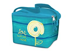 Lunch Cooler Bag- Circle Flower
