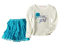 Top & Skirt Set - Glam Girl