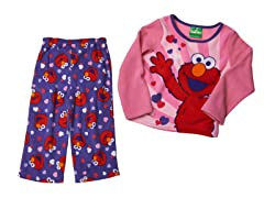 Elmo 2-Piece Fleece Set (2T-4T)