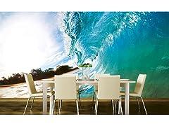 Ocean Wave Wall Mural