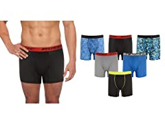 Russel Performance Boxer Briefs 6-Pack