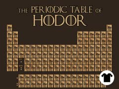 The Periodic Table of Hodor