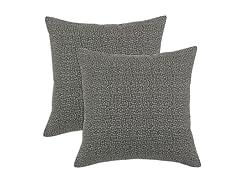 Interlochen 17x17 Pillows - Grey - Set of 2