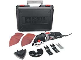 Porter-Cable 3-Amp Oscillating Multi-Tool Kit