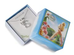 """Tinkerbell Initial Necklace - Letter """"S"""""""