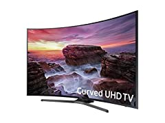 "Samsung 55"" Curved 4K Ultra-HD Smart TV"