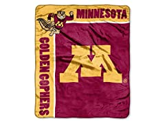 Minnesota Plush Throw