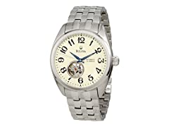 Men's BVA Dual Aperture Dial Watch