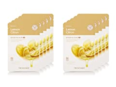 Real Nature Lemon Mask - 10 Pack