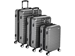 AmazonBasics 3-Piece Spinner Luggage Set