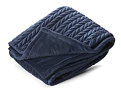 Amherst 50x60 Throw-Indigo