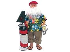 """15"""" Spring Break Santa"""