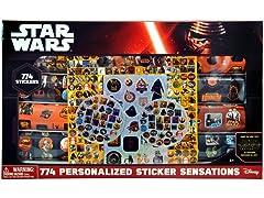 Star Wars Ep7 - Sticker Sensation Set